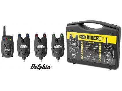 Delphin Diver 9V sada signalizátorů 3+1
