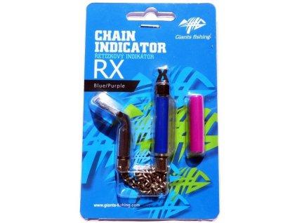 Řetízkový swinger Giants Fishing Chain Indicator RX Blue/Purple