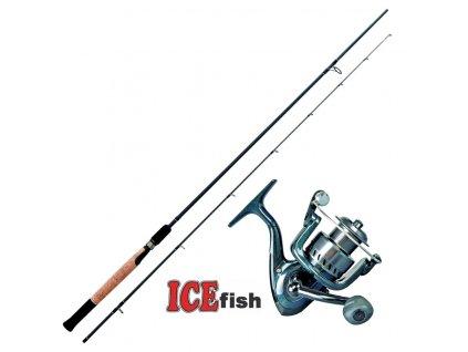 ICE Fish přívlačový set Harpon Dyty 270
