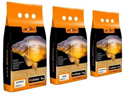 Alevin Big Carp vnadící krmítková směs 3 kg