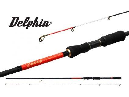 Prut Delphin Zorro 225 cm/3-18 g
