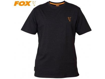 Tričko FOX Collection Black/Orange T-Shirt