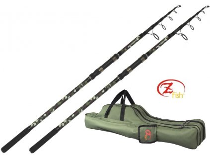Zfish Combo 2x prut Kingstone 3,60 m/3 lb + pouzdro zdarma