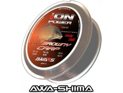 Vlasec Awa-Shima ION POWER Browny Carp 1200 m