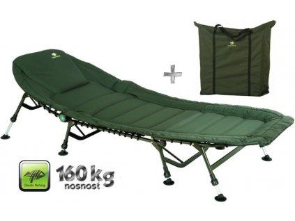 Giants Fishing lehátko Specialist Plus 8Leg Bedchair + taška