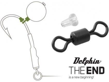 Delphin THE END obratlík Ronnie + gumový stoper - 20 +10 ks