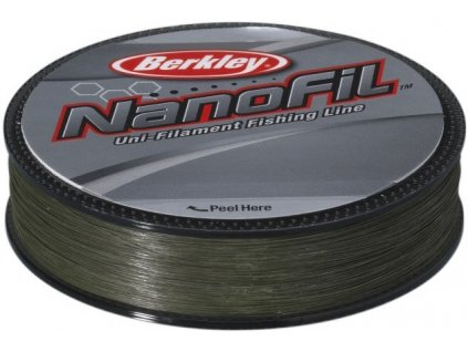 Nanofil Berkley 125 m Lo-Vis Green zelený