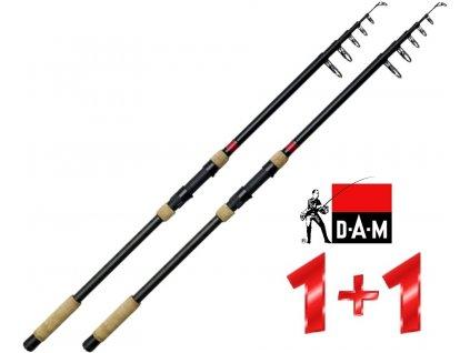 Prut DAM Spezi Stick II Tele Carp 3,60 m/2,75 lbs - AKCE 1+1