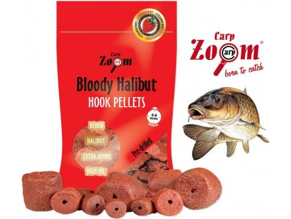 Carp Zoom pelety Strawberry Halibut Hook Pellets 150 g