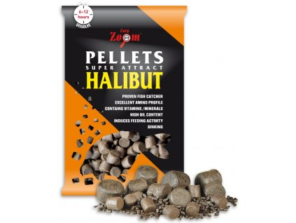 Carp Zoom pelety Feeding Halibut Pellets 800 g