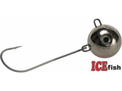 ICE Fish magická koule na mořský rybolov - stříbrná