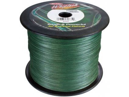 Berkley Whiplash Green pletená šňůra 1 m
