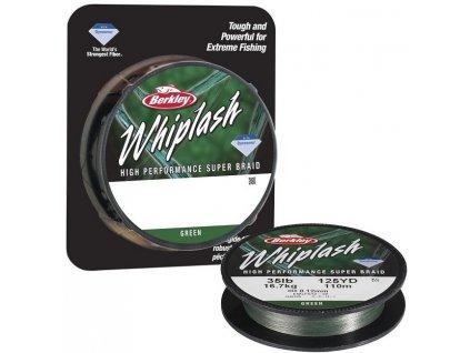 Berkley Whiplash Green pletená šňůra 110 m