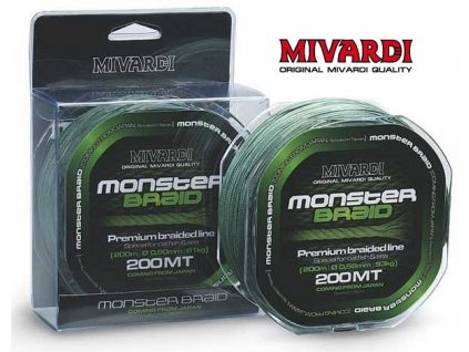 Mivardi Monster Braid pletená šňůra 200 m