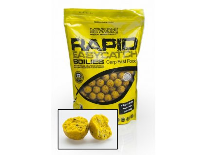 Boilies Mivardi Rapid Easy Catch Ananas + N.BA. 950 g