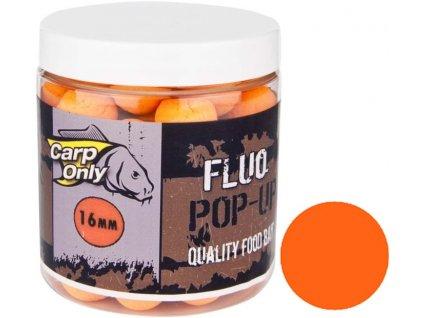 Plovoucí boilies Carp Only Fluo Pop Up Orange 100 g