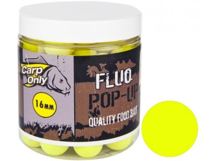 Plovoucí boilies Carp Only Fluo Pop Up Yellow 100 g