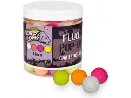 Plovoucí boilies Carp Only Fluo Pop Up mix 4 barev 100 g