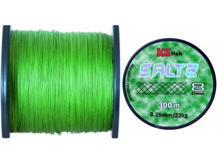 Pletená šňůra ICE Fish Saltz 8 String - 300 m