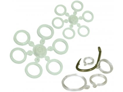 Carp System silikonové kroužky na pelety S 5,5 mm/12 ks