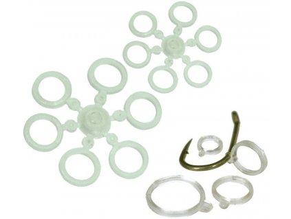 Carp System silikonové kroužky na pelety M 8,5 mm/12 ks
