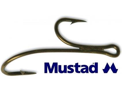 Mustad dvojháčky Ryder Double Hook 35890 BR - 10 ks