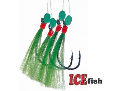 Návazec pro mořský rybolov ICE Fish třásně A