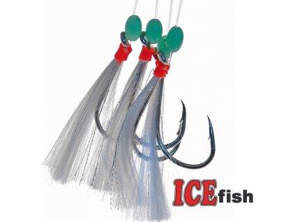 Návazec pro mořský rybolov ICE Fish třásně B