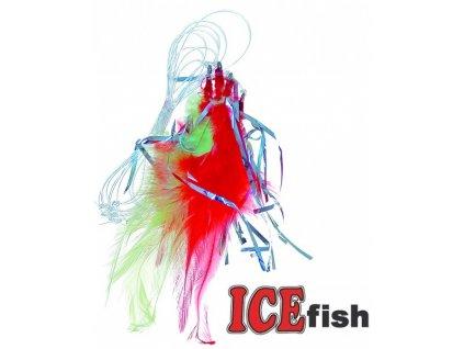 Návazec pro mořský rybolov ICE Fish peří A