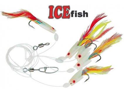 Návazec pro mořský rybolov ICE Fish moře sledi