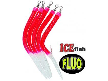 ICE Fish trubičky RF na návazce pro mořský rybolov - 5 ks
