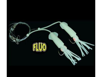 Návazec na mořský rybolov ICE Fish DUO chobotnice - 2 ks
