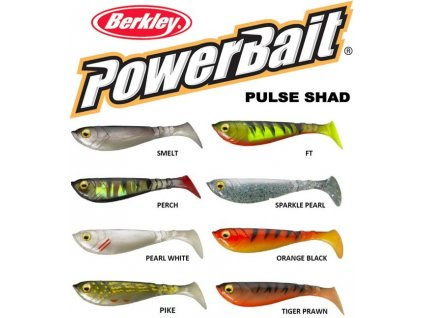 Berkley PowerBait Pulse Shad ripper 14 cm