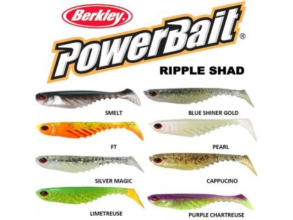 Berkley PowerBait Ripple Shad ripper 7 cm