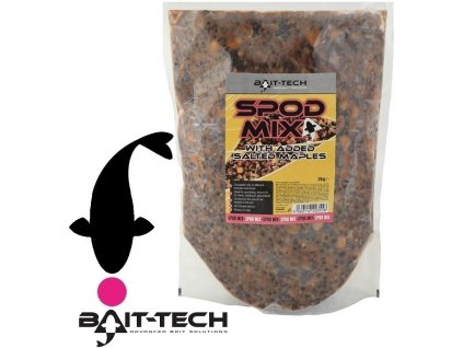 Bait-Tech partikl Super Seed Spod Mix Pouch with added Salted Maples - 2 kg