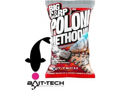 Bait-Tech krmítková směs Big Carp Poloni Method Mix -2 kg