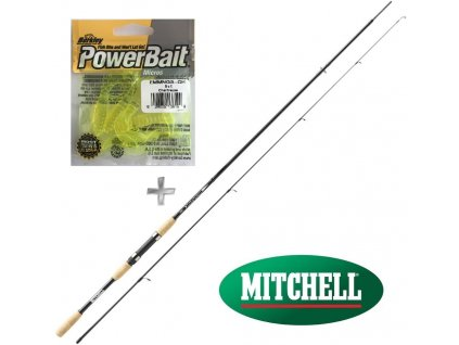 Prut Mitchell Tanager Spin 182, 212, 242, 272 + twistery