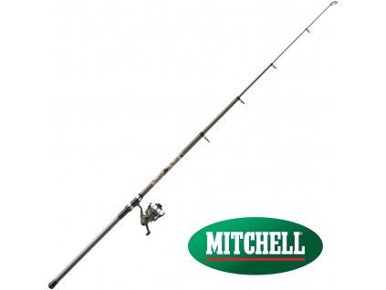 Prut Mitchell Tanager Camo Strong Tele 3,50 m/50-150 g + naviják 40 FD