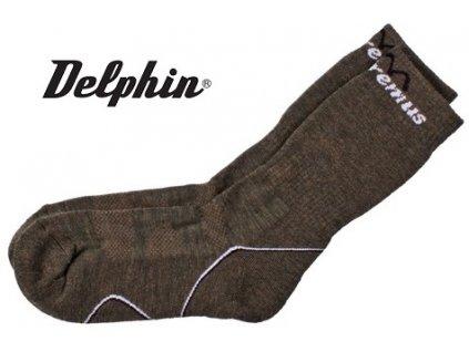Termo ponožky Delphin Extremus Merino
