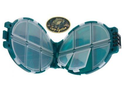 Carp System krabička želvička 11 x 7 x 3 cm