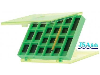 JSA Fish magnetická krabička - 15 x 11 x 2 cm