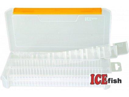 ICE Fish plastová krabička - 23 x 12,5 x 3,5 cm