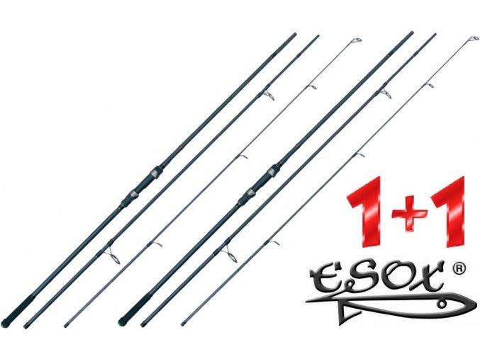 Prut Esox Kaprák 390 cm/3,25 lbs - AKCE 1+1