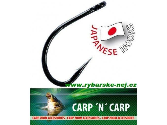 Háčky CARP ZOOM Tefcon Anti-snag Hooks - s očkem / 10 ks