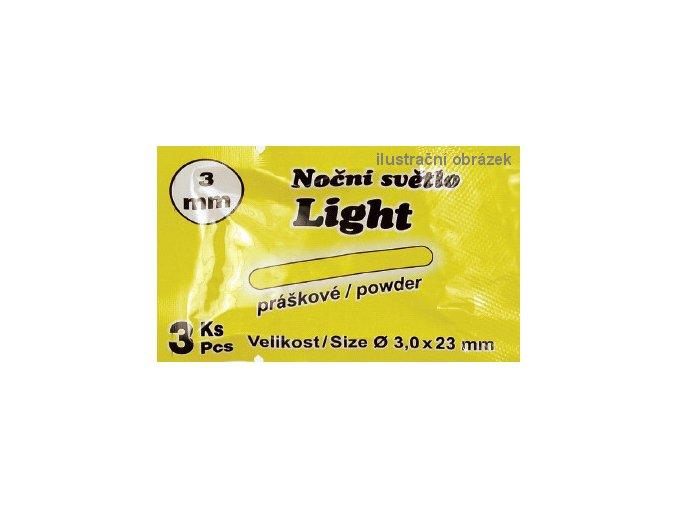 JSA Fish chemické světlo práškové - 3 ks