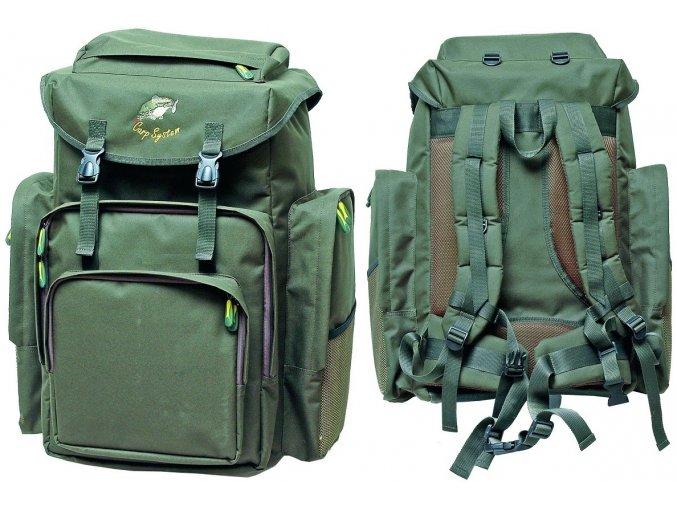 Carp System rybářský batoh C.S. 120 - zelený
