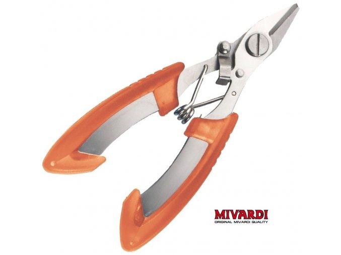 Mivardi klešťové nůžky na návazcové materiály