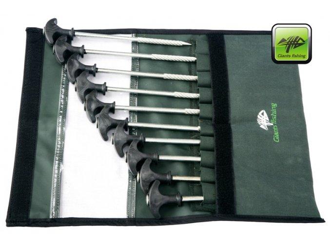 Giants Fishing zavrtávací stanové kolíky Classic Peg Set 10 ks