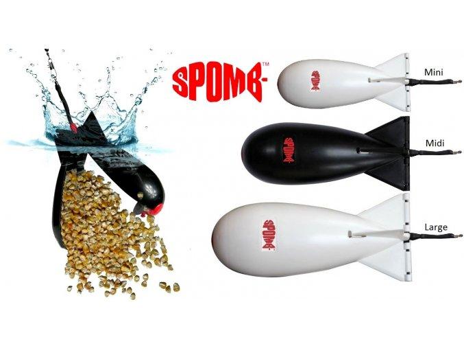 Zakrmovací raketa Spomb Midi Bait Rocket / střední