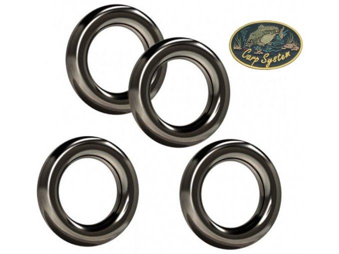 Carp System kroužky kulaté - 15 ks